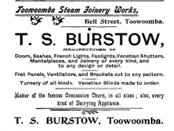 Burstow advertisement 1899 Pugh's Almanac