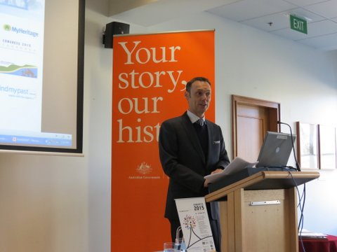 Report on Launch of National Family History Month August 2014