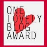 One Lovely Blog Award  Sep 2014