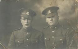 Jack to Doris post card WW1