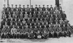 6th reinforcement for the 42nd Battalion 1916 - courtesy of State Library of Queensland negative no 177042