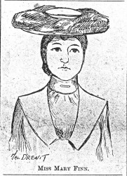 Mary Finn sketch 1903