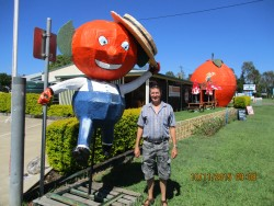 Max at the Big Orange, Gayndah
