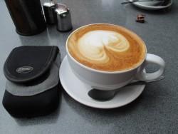 Big cup of coffee in Tauranga