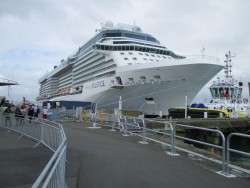 Celebrity Solstice at Tauranga New Zealand
