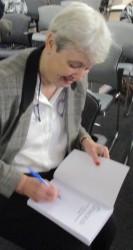 Jennifer Harrison signing Shackled Jun 2016