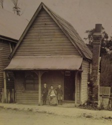 The Spencer home in South Australia, image from the family collection