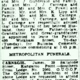 Trove Tuesday – Funeral Notices and Oddfellows