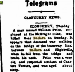 The Evening Telegraph 19 Jun 1918 via Trove