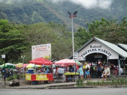 Rabaul market, author photo