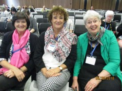 Liz, Perry and Jennifer - some of my favourite authors