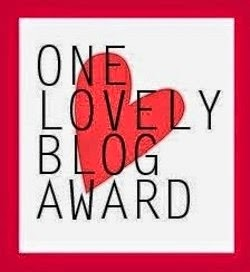 One Lovely Blog Award  Sep 2014