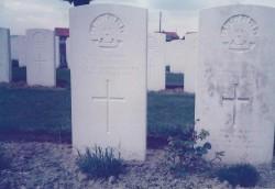 Frederick Trevaskis Commonwealth War Grave