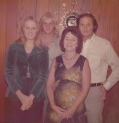 Teenage years ca 1974