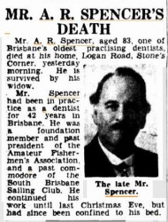 Adkins Robert Spencer obituary