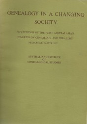 Front cover 1977 AFFHO Congress proceedings