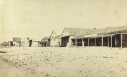 Christoe Street, Copperfield 1876 - image courtesy State Library of Queensland
