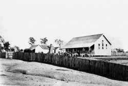 Copperfield State School 1876 - image courtesy State Library of Queensland