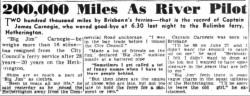James Carnegie retirement Sunday Mail 28 Apr 1946 via Trove