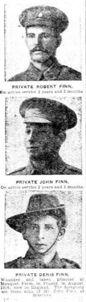 WW1 Finn Brothers The Week 31 Jan 1919