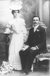James Carnegie and his wife Mary Finn in 1906