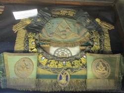 Burstow apron, Brisbane Masonic Memorial Centre Jul 2017