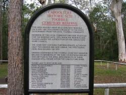 Historic Toorbul cemetery, author photo