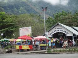 Rabaul market, author photo